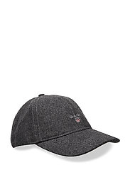 D2. GANT MELTON CAP - DARK GREY MELANGE