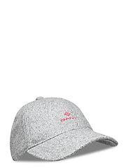 MELTON CAP - DARK GREY MELANGE