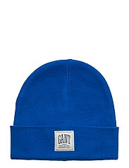 O1. SOLID KNIT HAT - LAPIS BLUE