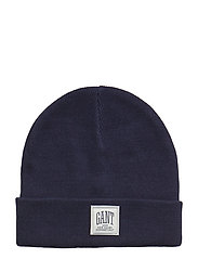 O1. SOLID KNIT HAT - MARINE