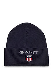 D1. MEDIUM SHIELD RIB BEANIE - EVENING BLUE