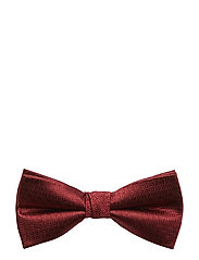 D1. SIGNATURE WEAVE BOWTIE - MAHOGNY RED