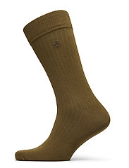 D1. SOLID RIB SOCK EMB SOCKS - DARK CACTUS