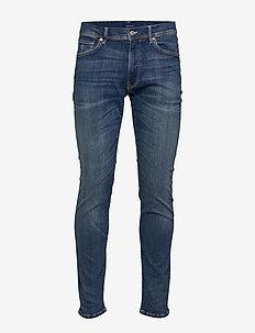 D1. SLIM ACTIVE-RECOVER JEANS - slim jeans - dark blue broken in