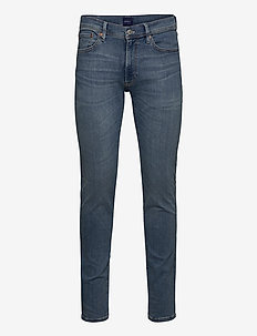 D1. SLIM ACTIVE-RECOVER JEANS - slim jeans - light blue worn in