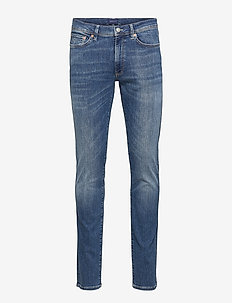 D1. SLIM ACTIVE-RECOVER JEANS - slim jeans - mid blue broken in