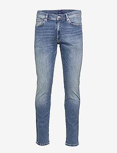 D1. SLIM ACTIVE-RECOVER JEANS - slim jeans - mid blue vintage
