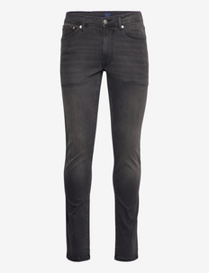 D1. MAXEN ACTIVE-RECOVER BLK JEANS - slim jeans - black worn in