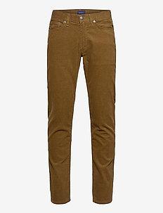D1. SLIM CORD JEANS - slim jeans - butternut