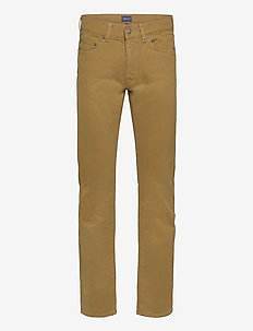 D2. REGULAR SOFT TWILL JEANS - regular jeans - butternut