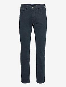 D2. REGULAR SOFT TWILL JEANS - regular jeans - navy