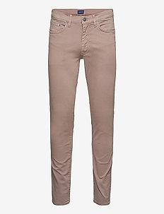 HAYES DESERT JEANS - slim jeans - desert brown