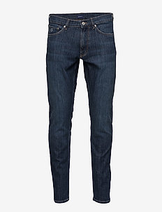 D1. TP TAPERED JEANS - slim jeans - dark blue worn in