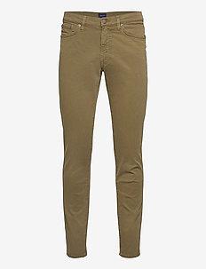SLIM DESERT JEANS - slim jeans - dark cactus