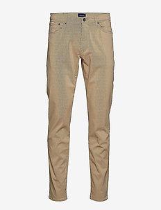 SLIM DESERT JEANS - slim jeans - dark khaki