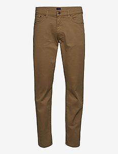 REGULAR DESERT JEANS - regular jeans - dark khaki