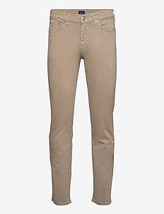 REGULAR DESERT JEANS - regular jeans - desert brown