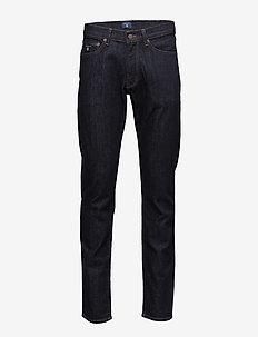 SLIM GANT JEANS - slim jeans - dark blue