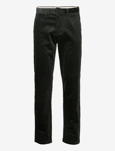 D1. ALLISTER CORD CHINOS - chinos - thyme green
