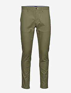 HALLDEN TECH PREP CHINOS - chinosy - four leaf clover