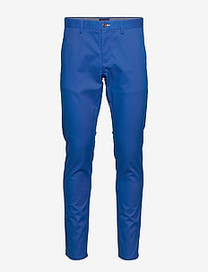HALLDEN TECH PREP CHINOS - chinos - nautical blue