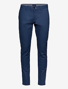 HALLDEN TECH PREP CHINOS - VINTAGE BLUE