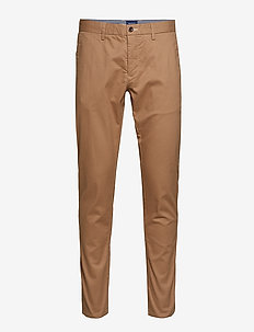 HALLDEN TECH PREP CHINOS - WARM KHAKI