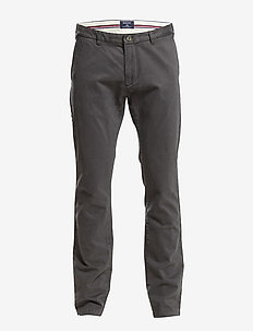 SOHO COMFORT SUPER CHINO - chinos - dark graphite