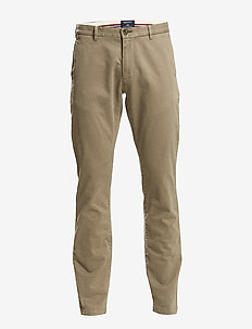 SOHO COMFORT SUPER CHINO - chinos - desert brown