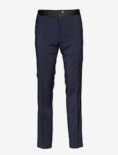 D2. TUX SUIT TROUSER - EVENING BLUE