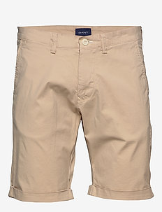 D2. REGULAR SUNFADED SHORTS - DRY SAND