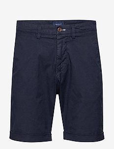 D2. REGULAR SUNFADED SHORTS - casual shorts - marine