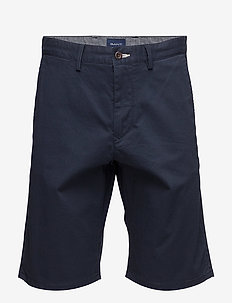 D1. RELAXED TWILL SHORTS - chinos shorts - marine