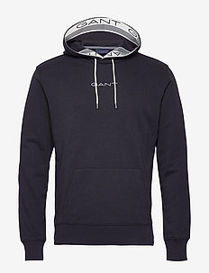 D1. 13 STRIPES SWEAT HOODIE - sweats basiques - evening blue