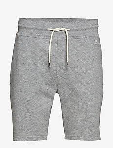 D1. HEAVY JERSEY SHORTS - GREY MELANGE