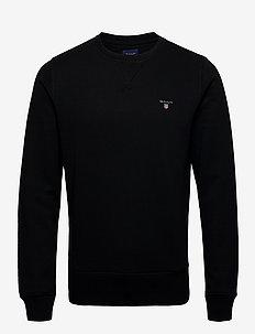 THE ORIGINAL C-NECK SWEAT - basic sweatshirts - black