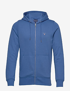 THE ORIGINAL FULL ZIP HOODIE - bluzy z kapturem - nautical blue