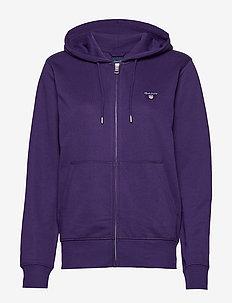 THE ORIGINAL FULL ZIP HOODIE - bluzy z kapturem - parachute purple