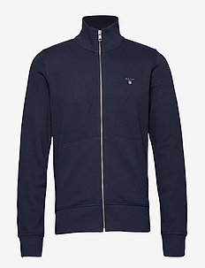 THE ORIGINAL FULL ZIP CARDIGAN - sweats - evening blue