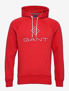 LOCK UP HOODIE - hoodies - bright red