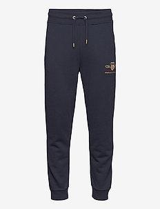 ARCHIVE SHIELD SWEAT PANTS - joggings - evening blue