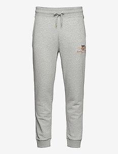 ARCHIVE SHIELD SWEAT PANTS - sweat pants - grey melange