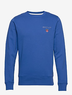 D1. MEDIUM SHIELD C-NECK SWEAT - sweats basiques - nautical blue