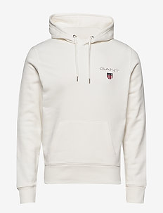 D1. MEDIUM SHIELD HOODIE - basic sweatshirts - eggshell