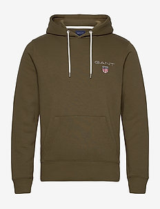 D1. MEDIUM SHIELD HOODIE - FIELD GREEN