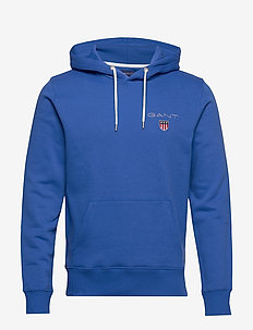 D1. MEDIUM SHIELD HOODIE - sweats basiques - nautical blue