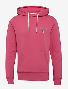 D1. MEDIUM SHIELD HOODIE - basic sweatshirts - rapture rose