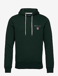 D1. MEDIUM SHIELD HOODIE - perus-college-paitoja - tartan green