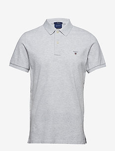 ORIGINAL PIQUE SS RUGGER - polos à manches courtes - cloud grey melange