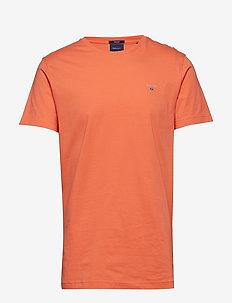 ORIGINAL SS T-SHIRT - short-sleeved t-shirts - coral orange